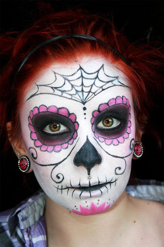 Sugar Skull Makeup Half Face Share Knownledge