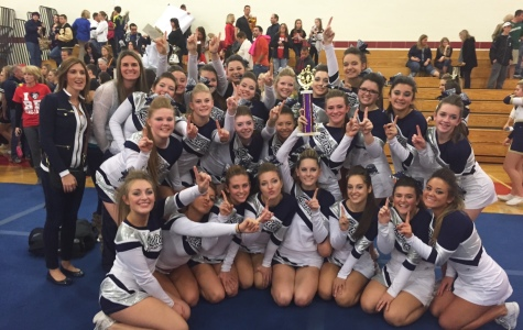 Varsity Cheerleaders EAC Champs