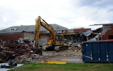 Obliteration of the Old Building