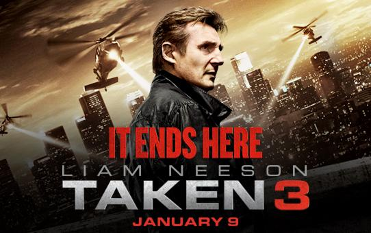 Taken 3 (MOVIE REVIEW) – The Breeze
