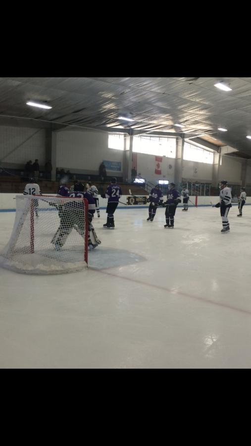 Raiders Boy's Ice Hockey Team Ties Martha's Vineyard 3-3