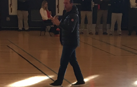 Former NBA Player Gives Moving Speech to SBRHS Students