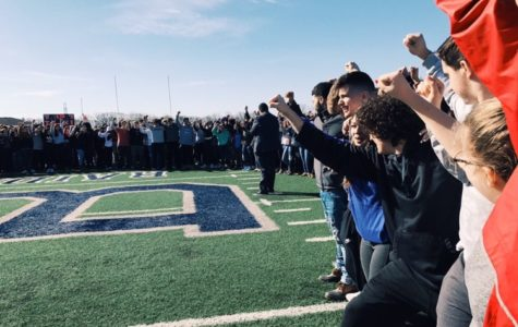 SBRHS Students and Staff Have Chance to Take Part in School Walkout