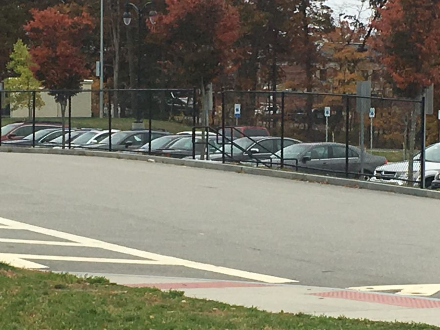 Stairs and Fence Installed in Student Parking Lot