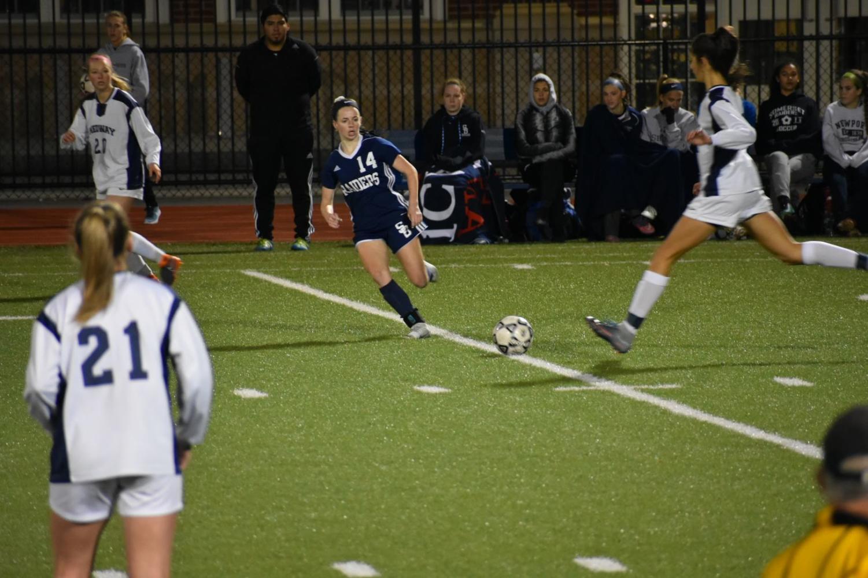 Pictured: Number 14 Brooke Sullivan