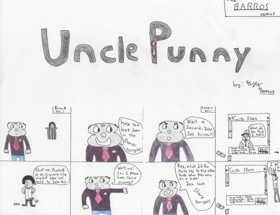 Uncle Punny Issues 3 to 4 Volume 1