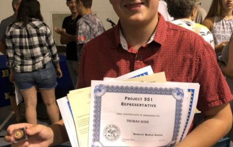 Thomas Rose-Student of the Month